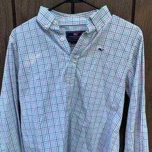 Vineyard Vines Button Up Whale Shirt